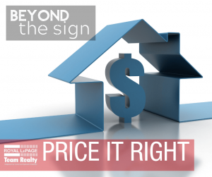 Beyond the Sign: Price It Right